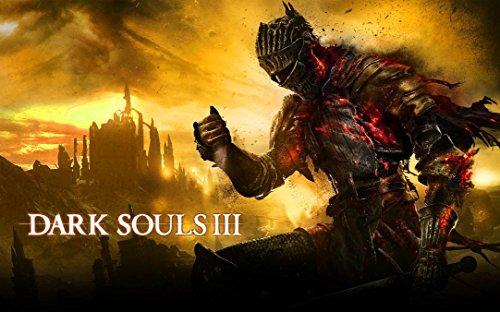 Dark Souls 3 (38inch x 24inch / 96cm x 60cm) Silk Print Poster - Silk Printing - 5D5686