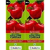 Apple Cider Vinegar With Honey, Unfiltered, Unpasteurized ( Mother Of Vinegar ) (Pack Of 2)