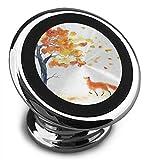 Univer-See Magnetische Kfz-Handyhalterung mit Blume, verstellbar, 360 °, drehbar, universal, für Samsung Galaxy S5/S7/S8