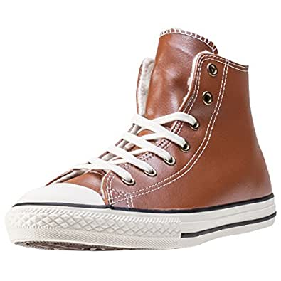Converse Trainers Converse Chuck Taylor Youth Leather All