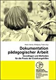 Dokumentation pädagogischer Arbeit (Reihe Grundsatzfragen / Gelbe Schriftenreihe)