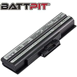 Battpit Batterie d'ordinateur Portable de Remplacement pour Sony VAIO VGN-AW21M/H (4400 mah)