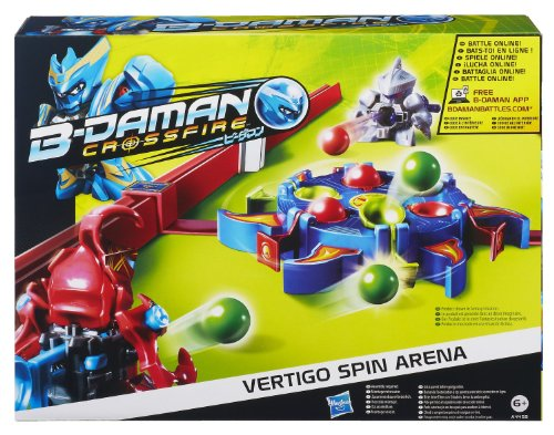 Hasbro B-Daman Vertigo Spin Arena rojo