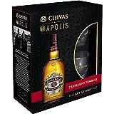 Chivas Regal Scotch 12 Years Old Special Edition Whisky mit Geschenkverpackung mit 2 Gläsern (1 x 0.7 l)