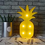 New Style Lovely Pineapple LED Night Night Battery Operated Children Marquee Night Lamps, Indoor Lighting Decoration