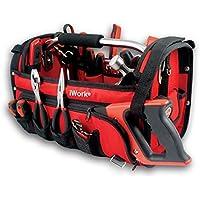 iWork VS043P-R - Juego de 43 herramientas en bolsa profesional (48 x 24.5 x 26.5 cm) color rojo