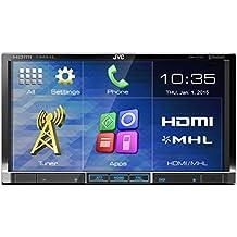 JVC KW-V51BTE - Cargador de CD para coche (USB, HDMI, Radio, pantalla LCD), negro