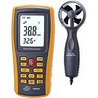 usoland Digital elettronico Mini Smart Sensor Velocità del vento LCD Handheld Digital anemometro, GM8902 - Vento Rilevatore