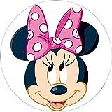Minnie Mouse Runde Tortenaufleger