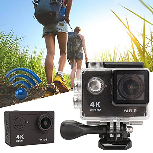 MOHOO 1080P Sport Action Camera H9SE Ultra HD WiFi 4K Wide-angle HD 170° DV Display Mini Ultra 2 LCD Display 30M DV Waterproof Action /Waterproof Sport Camera Camcorder With Remote Control