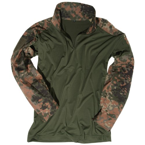 Mil-Tec Combat Hemd Flecktarn Größe L