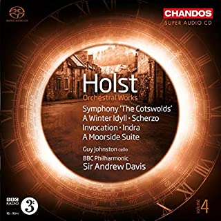 Holst: Orchestral Works [Guy Johnston; BBC Philharmonic; Sir Andrew Davis] [Chandos: CHSA 5192]