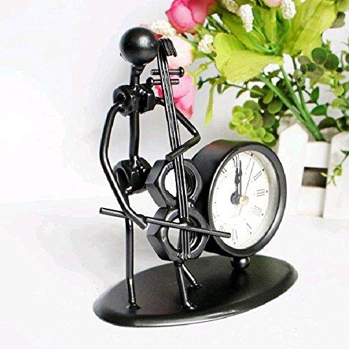 (Breguht kreative Prozess der Metall Handwerk, Mode Schmuck Heimtextilien Ironman Clockmodern Dekoration, Classic, langlebig, Retro, einfache und simple Home Fashion Qualitätssicherung)
