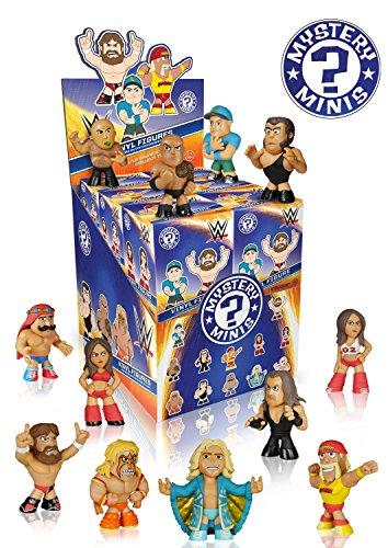 Wwe Vinyl (WWE Wrestling Vinyl Mini Figuren (Blind Pack) aus Serie 1: Zufällige Auswahl, 1 Blind Pack = 1 Charakter)