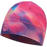 SET - BUFF® MICROFIBER 1 LAYER HAT Gorro + UP® Ultrapower Paño tubular | Mujeres | Hombres | Beanie | Logo | Transpirable | Antiolor, Buff Design:Shining Pink - 117099.538.10.00