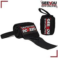 """GEEYOU Handgelenk Bandagen/Wrist Wraps 18"""" / 45 cm Handgelenkbandagen für Fitness, Bodybuilding Kraftsport und... preisvergleich bei billige-tabletten.eu"""