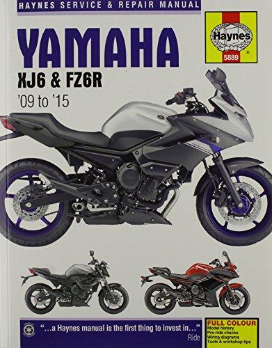 yamaha-xj6-service-and-repair-manual-2009-2015