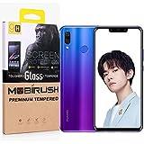 MOBIRUSH 5D Gorilla Edge-To-Edge Anti Fingerprint Tempered Glass Guard For Huawei Honor Nova 3i (Black)