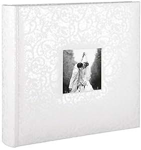 Henzo 2210002 Hochzeitsalbum Cira Fotoalbum, Andere, weiß, 25 x 24.5 x 5 cm