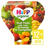HiPP Orgánica Shell pasta con Juicy tomates y calabacines 230 g