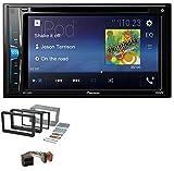caraudio24 Pioneer AVH-A200BT USB DVD 2DIN Bluetooth CD MP3 Autoradio für Alfa Romeo 159 Spider Brera ab 05 Navi