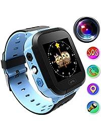 Reloj Inteligente Smartwatch para niños, rastreador de ubicación GPRS + LBS, Reloj del teléfono