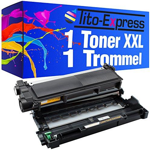 Tito-Express PlatinumSerie 1 Drum & 1 Laser-Toner XXL als Ersatz für Brother DR-2300 & TN-2320 | Kompatibel mit HL-L2300D L2320D HL2321D L2340DW L2360DN L2360DW L2361DN L2365DW L2380DW - Laser Trommel