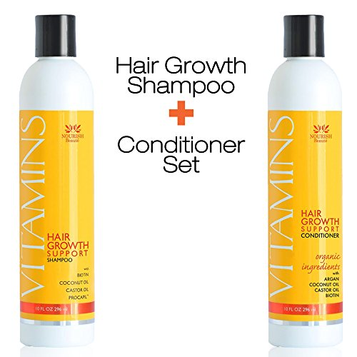vitamins-hair-loss-shampoo-and-conditioner-296ml-argan-oil-biotin-caffeine-best-hair-growth-product-