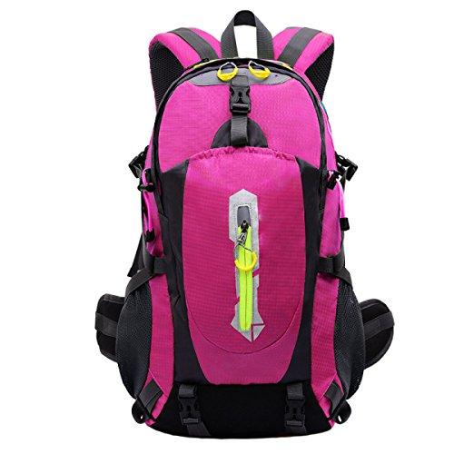 OGERT All'aperto Alpinismo Zaino Grande Capacità,Black Pink