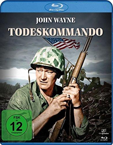 Todeskommando  (Du warst unser Kamerad)  (John Wayne) [Blu-ray] (Schwarzes Hawaii-fall)