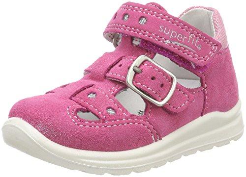 Superfit Baby Mädchen Mel Sandalen, (Pink Kombi), 22 EU