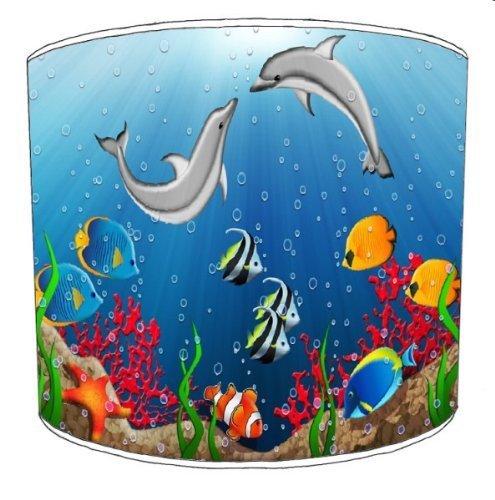 Premier Lampenschirme - Durchmesser 20cm Deckenlampe unter dem Meer Kinder Lampshades1