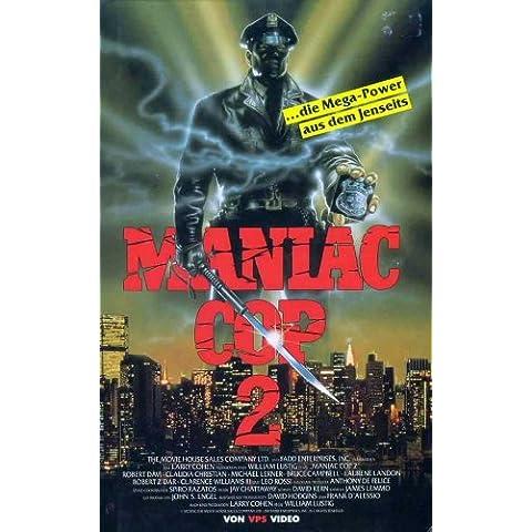 Cop Maniac tedesco film 2 Poster In 11 17 x 28 cm x 44 cm, motivo: Robert Davi Claudia Christian Michael Lerner Bruce Campbell Laurene Landon Robert