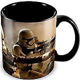 Star Wars - Episode 7 - Keramik Tasse - Stormtrooper Battle - verpackt in einer Geschenkbox!