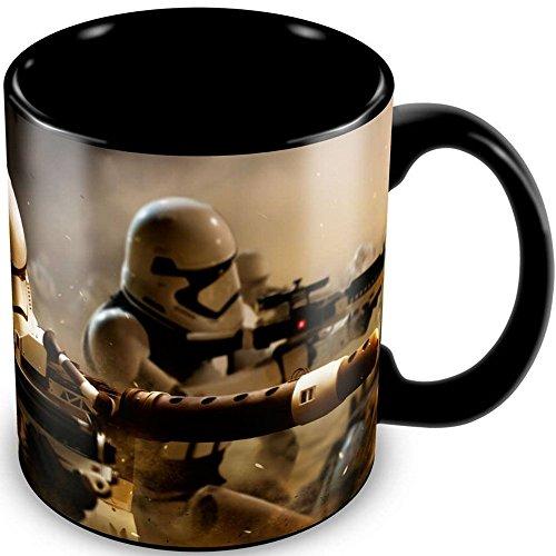Star Wars - Episode 7 - Keramik Tasse - Stormtrooper Battle - verpackt in einer Geschenkbox! (Glas-krug-set Disney)
