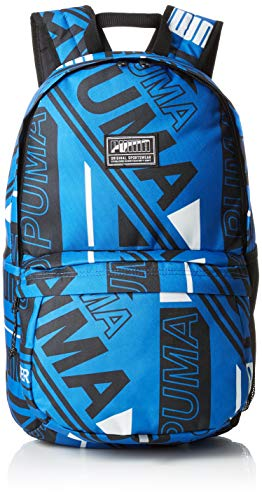 PUMA Academy Backpack Rucksack, Strong Blue All Over Print, OSFA Preisvergleich