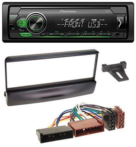 caraudio24 Pioneer MVH-S110UBG MP3 AUX 1DIN USB Autoradio für Ford Cougar Escort Fiesta Focus 95-04 schwarz 04 Auto-stereo-subwoofer