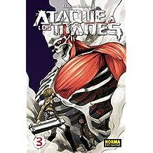 Ataque A Los Titanes 3 (Cómic Manga)