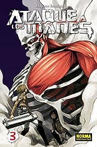 ATAQUE A LOS TITANES 3 par  Hajime Isayama