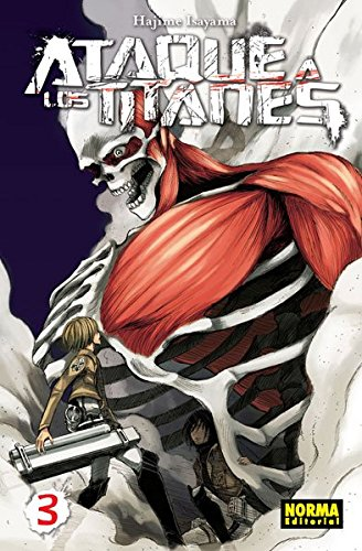 Ataque A Los Titanes 3 (Cómic Manga) por Hajime Isayama