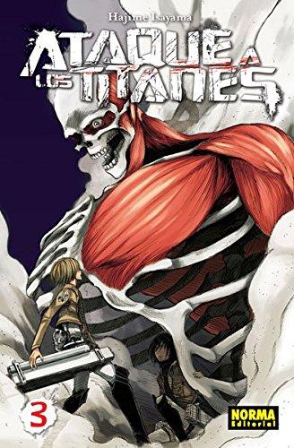 Ataque A Los Titanes 3 (Cómic Manga) thumbnail