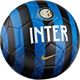 Nike Inter Ball, Calcio Unisex Adulto, Game Royal/Nero/Bianco//Truly Gold, 5