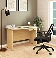 SOS Spacewood LiteOffice Multi Desk with Drawer Home and Office Table (Urban Teak)