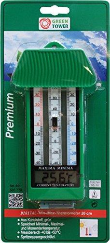 Unimet Thermometer-585779, grün, 28 x 5 x 3.5 cm, 140587