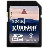 Keple | Nikon D7100 Body 32GB SD Speicherkarte Karte fur Kamera Digitalkamera | Kingston Class 4 SDHC SDXC