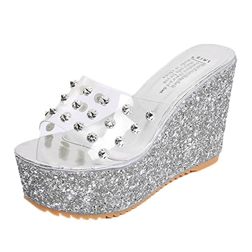 Bovake Bout Ouvert Femme silver