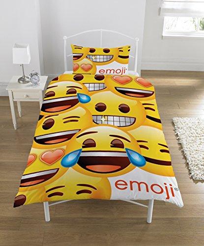 Emoji oficial Panel único edredón juego, Multi