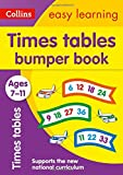 Collins Easy Learning KS2 – Times Tables Bumper Book Ages 7-11
