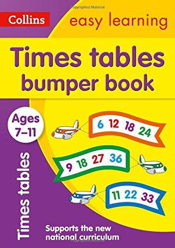 Times Tables Bumper Book Ages 7-11 (Collins Easy Learning KS2) por Collins Easy Learning
