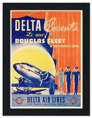 delta-air-lines-douglas-dc2-air-travel-poster-1940s-framed-print-32x42cm-black